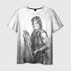 Мужская 3D-футболка с принтом Дэрил, цвет: 3D, артикул: 10084968803301 — фото 1