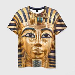 Футболка мужская Фараон цвета 3D-принт — фото 1
