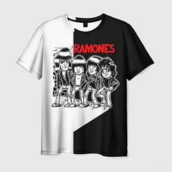 Футболка мужская Ramones Boys цвета 3D-принт — фото 1