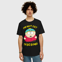 Футболка оверсайз мужская South Park, Эрик Картман цвета черный — фото 2