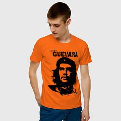 Футболка хлопковая мужская Che Guevara цвета оранжевый — фото 2