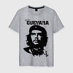 Футболка хлопковая мужская Che Guevara цвета меланж — фото 1