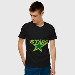 Футболка хлопковая мужская Dallas Stars цвета черный — фото 2