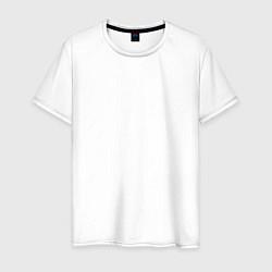 Футболка хлопковая мужская IKON цвета белый — фото 1