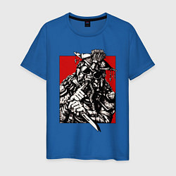 Футболка хлопковая мужская Apex Legends: Bloodhound Style цвета синий — фото 1