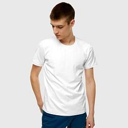 Мужская хлопковая футболка с принтом Ateez, цвет: белый, артикул: 10196173500001 — фото 2