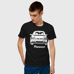 Мужская хлопковая футболка с принтом Honda Torneo, цвет: черный, артикул: 10205816900001 — фото 2