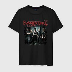 Футболка хлопковая мужская Evanescence цвета черный — фото 1