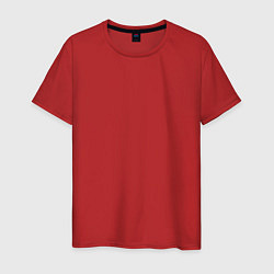 Мужская хлопковая футболка с принтом Нижний Новгорд EVLTN, цвет: красный, артикул: 10277912100001 — фото 1