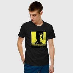 Футболка хлопковая мужская DEEP DARK FANTASY цвета черный — фото 2