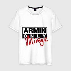 Мужская хлопковая футболка с принтом Armin Only: Mirage, цвет: белый, артикул: 10036476300001 — фото 1