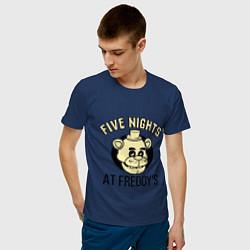 Футболка хлопковая мужская Five Nights At Freddy's - фото 2
