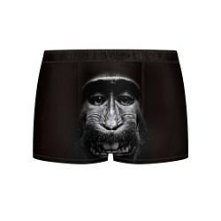 Трусы-боксеры мужские Улыбка обезьяны цвета 3D — фото 1