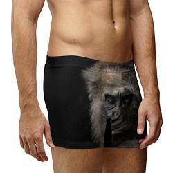 Трусы-боксеры мужские Глаза гориллы цвета 3D-принт — фото 2