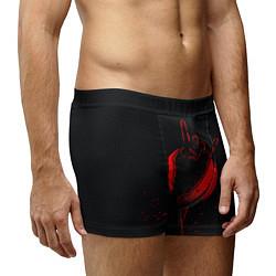 Трусы-боксеры мужские Zombie Rock цвета 3D-принт — фото 2