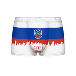 Трусы-боксеры мужские Altai: Russia цвета 3D-принт — фото 1