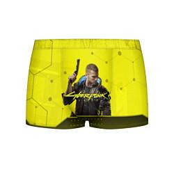 Трусы-боксеры мужские CYBERPUNK 2077 цвета 3D — фото 1