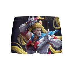 Трусы-боксеры мужские Сейлор Панч цвета 3D-принт — фото 1