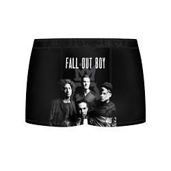 Трусы-боксеры мужские Fall out boy band цвета 3D — фото 1