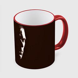 Кружка 3D Prison Break: Faces цвета 3D-красный кант — фото 1
