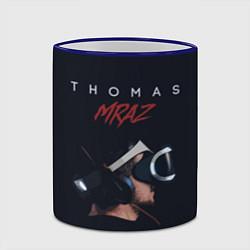 Кружка 3D Thomas Mraz цвета 3D-синий кант — фото 2