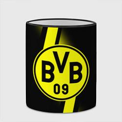 Кружка 3D FC Borussia Dortmund: Storm цвета 3D-черный кант — фото 2