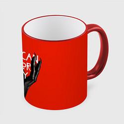 Кружка 3D Американская История Ужасов цвета 3D-красный кант — фото 1