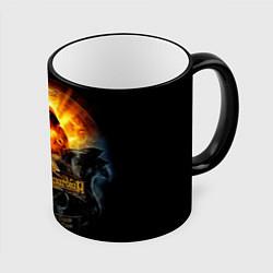 Кружка 3D Blind Guardian: Guide to Space цвета 3D-черный кант — фото 1