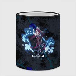 Кружка 3D Genshin Impact - Rosaria цвета 3D-черный кант — фото 2