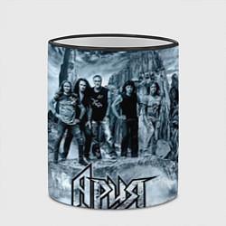 Кружка 3D Группа Ария цвета 3D-черный кант — фото 2