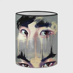 Кружка 3D EXO Eyes цвета 3D-черный кант — фото 2