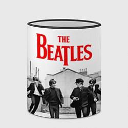 Кружка 3D The Beatles: Break цвета 3D-черный кант — фото 2