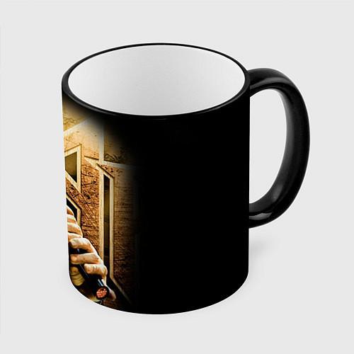 Кружка цветная Кипелов: Ария / 3D-Черный кант – фото 1