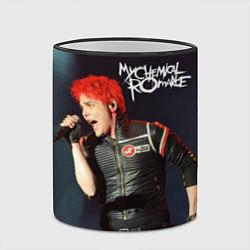 Кружка 3D Gerard Way цвета 3D-черный кант — фото 2