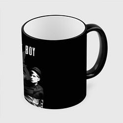 Кружка 3D Fall out boy band цвета 3D-черный кант — фото 1