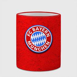 Кружка 3D Bayern FC цвета 3D-красный кант — фото 2