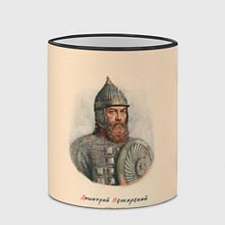 Кружка 3D Дмитрий Пожарский 1578-1642 цвета 3D-черный кант — фото 2
