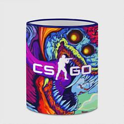 Кружка 3D CS:GO цвета 3D-синий кант — фото 2