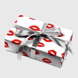 Бумага для упаковки Поцелуйчики цвета 3D — фото 2