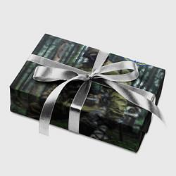 Бумага для упаковки Военная разведка цвета 3D — фото 2