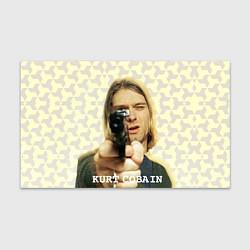 Бумага для упаковки Кобейн с пистолетом цвета 3D — фото 1