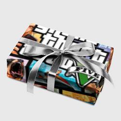 Бумага для упаковки GTA 5: City Stories цвета 3D-принт — фото 2