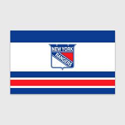 Бумага для упаковки New York Rangers цвета 3D — фото 1