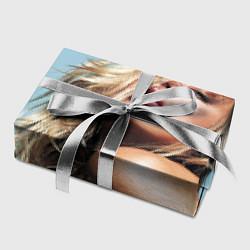 Бумага для упаковки Страстная девушка, красивая цвета 3D — фото 2