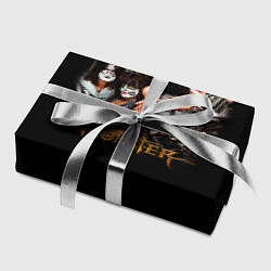 Бумага для упаковки Kiss Monster цвета 3D-принт — фото 2