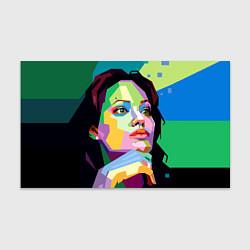 Бумага для упаковки Angelina Jolie: Art цвета 3D — фото 1