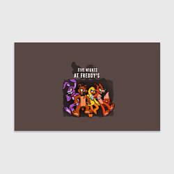 Бумага для упаковки Five Nights At Freddy's цвета 3D — фото 1