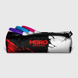 Пенал для ручек METRO EXODUS цвета 3D-принт — фото 2