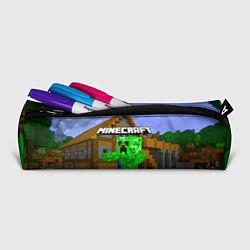 Пенал для ручек Minecraft цвета 3D — фото 2