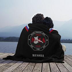 Плед флисовый MMA Russia цвета 3D — фото 2
